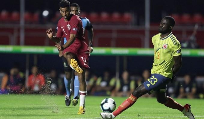 colombia vs catar copa america davinson sanchez3