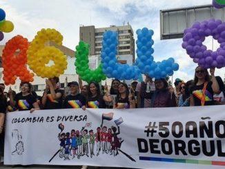 marcha para celebrar el Orgullo LGBTI en Bogot%C3%A1 3