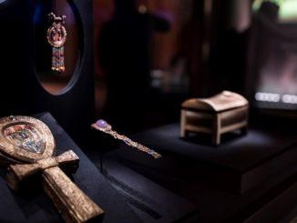 objetos de tutankamon