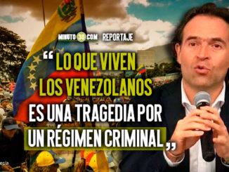 Alcalde pidio no estigmatizar a los venezolanos en Medellin