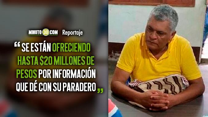 Autoridades aun desconocen el paradero del buscado Alcalde de Nechi