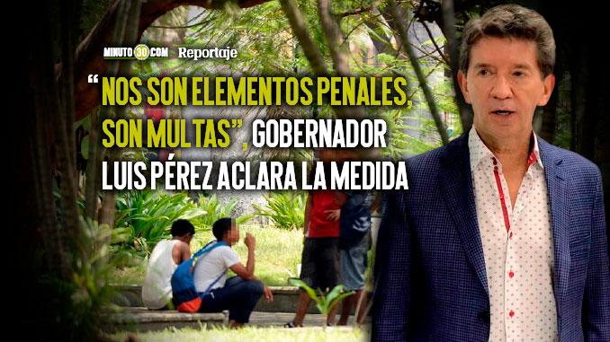 Decreto que proh%C3%ADbe consumo de drogas en espacios publicos en Antioquia Infringe la ley