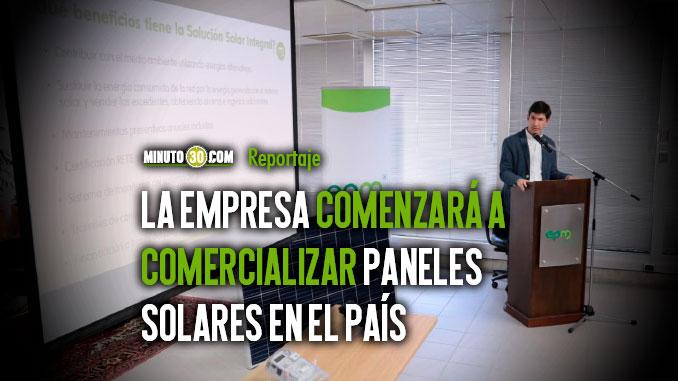 EPM ofrecera energia solar a hogares y pymes en Colombia