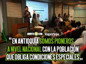 En Antioquia se realizo un encuentro internacional de educacion inclusiva