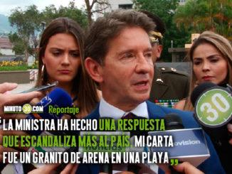 Estamos ante un escandalo de los mas grandes de la historia de Colombia Gobernador de Antioquia