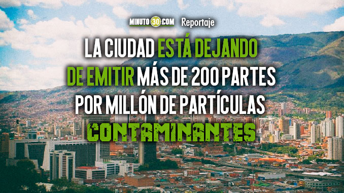 Gracias a la calidad de combustibles Medellin emite particulas contaminantes muy por debajo al promedio nacional