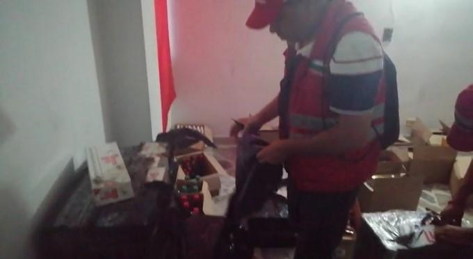 Incautacion de contrabando de licor y cigarrillo parque de Boston Medellin