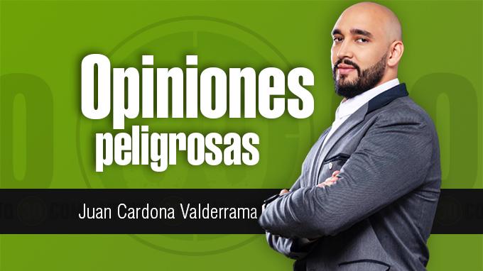 Juan CARLOS Valderrama Opiniones peligrosas