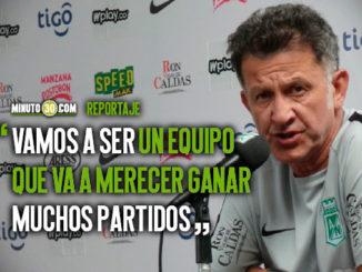 Juan Carlos Osorio habla los aspectos en los que siente que debe mejorar Atletico Nacional
