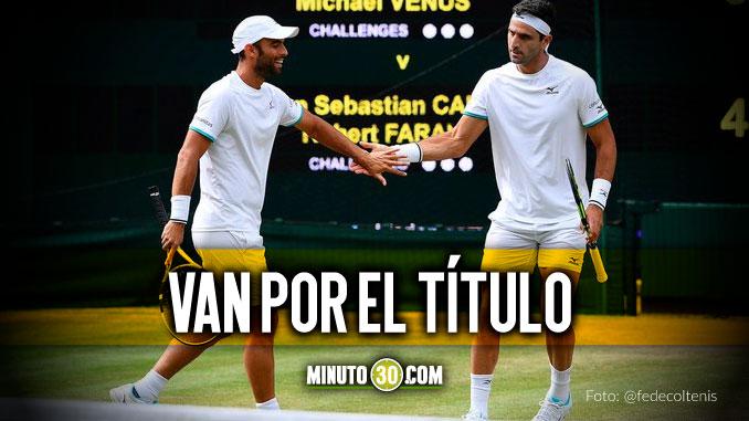 Juan Sebastian Cabal y Robert Farah avanzaron a la final en Wimbledon