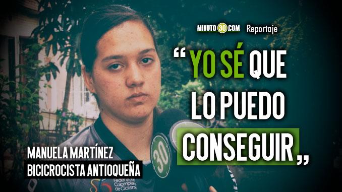 Manuela Martinez le apunta al sueno de ser campeona mundial