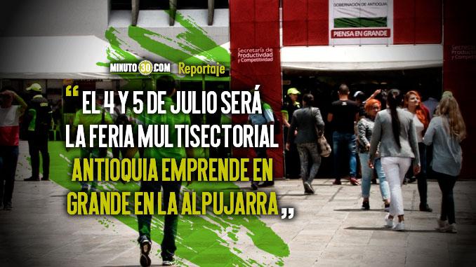 Mas de 90 emprendedores antioquenos ofreceran sus productos en pleno centro de Medellin