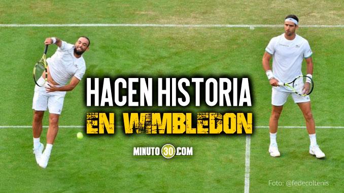 Sebasti%C3%A1n Cabal y Robert Farah clasificaron a cuartos de final de Wimbledon 1