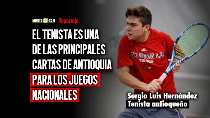 Sergio Luis Hernandez se foguea entre los mejores del deporte universitario en Estados Unidos
