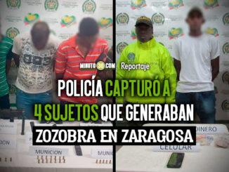 Siguen cayendo los delincuentes en el Bajo Cauca antioqueno