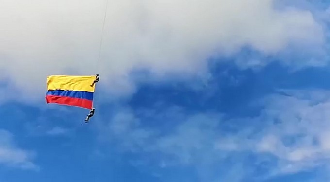 Accidente aereo militares Medellin
