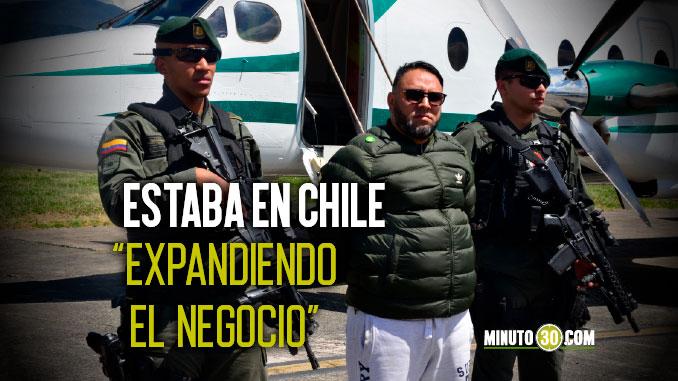 Alias Chucki jefe sicarial de La Terraza cayo en el aeropuerto cuando llegaba de Chile
