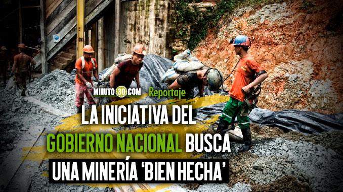 Antioquia se esta trazando la Ruta Minera