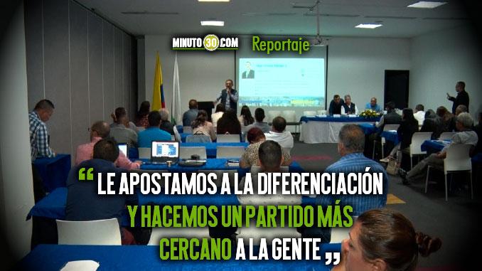 Dirigentes conservadores capacitan a candidatos a las JAL de Medellin