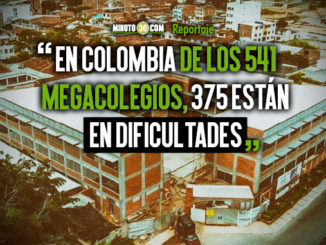 El problema de los megacolegios sigue creciendo en el paisGobernador Luis Perez