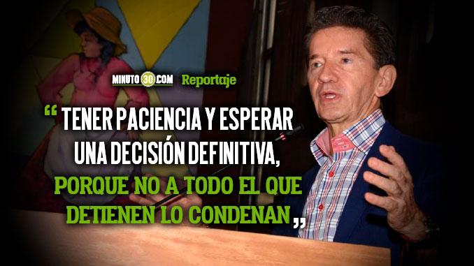 Gobernador de Antioquia pidio misericordia sobre captura del Contralor Sergio Zuluaga