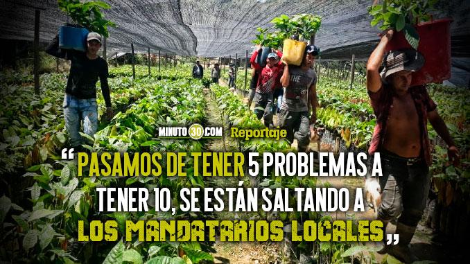Gobernador manifesto su descontento con el Gobierno Nacional en la ejecucion de acuerdos posconflicto en Antioquia