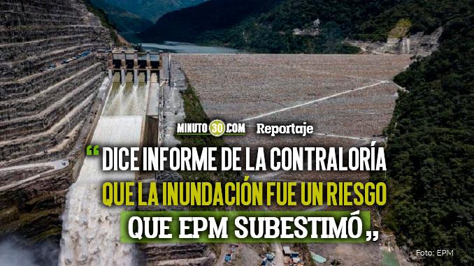 Inundacion de Casa de Maquinas habria sido prevista por EPM antes de la contingencia en Hidroituango