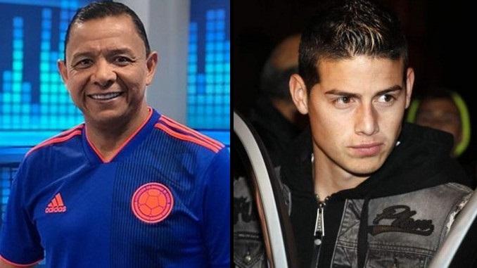 Ivan Rene Valenciano y James Rodriguez