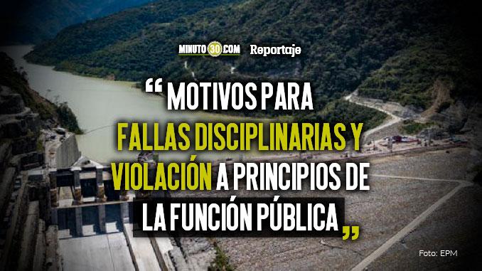 La Gobernacion de Antioquia del 2015 le entrego todo el poder a EPM sobre las acciones en Hidroituango Luis Perez