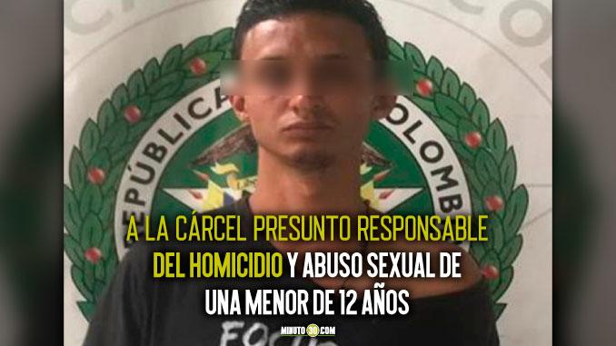 Mart%C3%ADn Antonio V%C3%A1zquez Uribe presunto homicida de Sindy ni%C3%B1a de 12 a%C3%B1os asesinada en San Cristobal