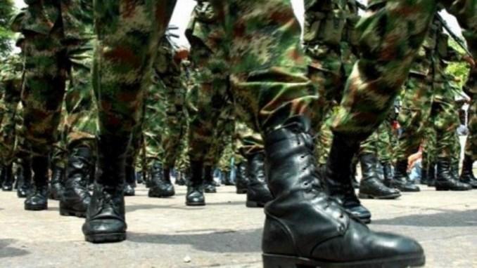 Militares ejercito