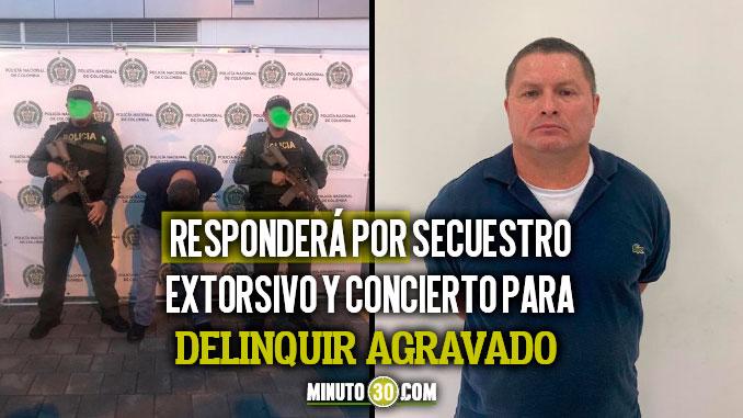 Mono Clinton del Eln capturado en Medellin