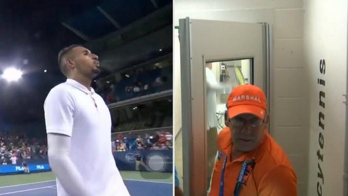 Nick Kyrgios tenista ataque ira