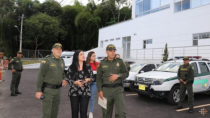 Nueva estacion de Policia en La Estrella Antioquia