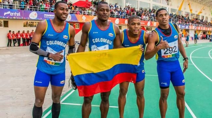 Panamericanos oro relevos