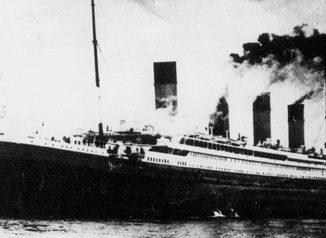 fotografia del titanic