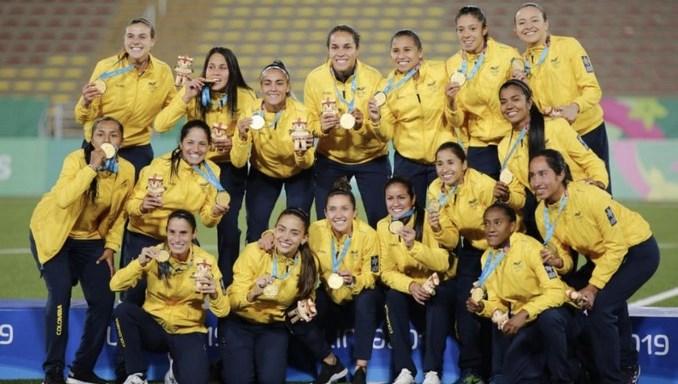 seleccion colombia femenina panamericanos campeonas