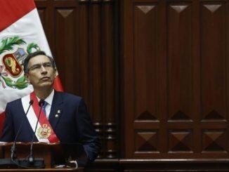30 09 19 presidente peru Martin Vizcarra