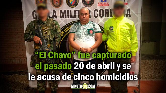 Alias El Chavo cabecilla del Clan de Golfo se fugo de los patios de la Sijin en Medellin2
