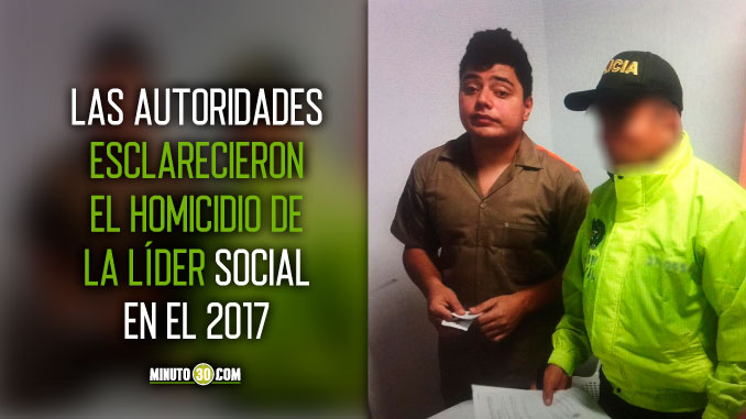 Alias Pocho cabecilla de La Agonia habria ordenado el homicidio de lideresa social de la Comuna 13