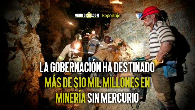 Antioquia lidera la batalla contra la mineria ilegal en Colombia
