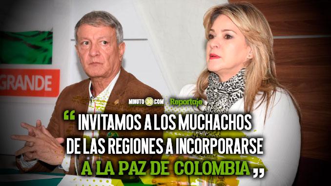 Antioquia tiene un nuevo programa para la construccion de paz