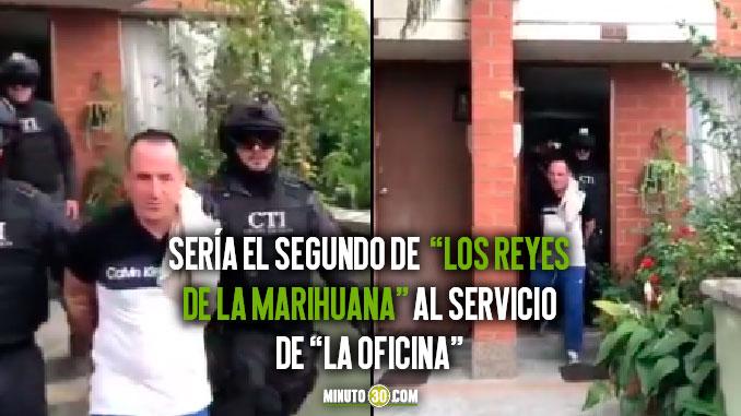 Asegurado presunto cabecilla de banda criminal Los Reyes de la Marihuana