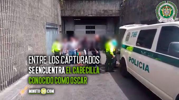 CAPTURADOS POR TRAFICO ILEGAL DE SUSTANCIAS QUIMICAS