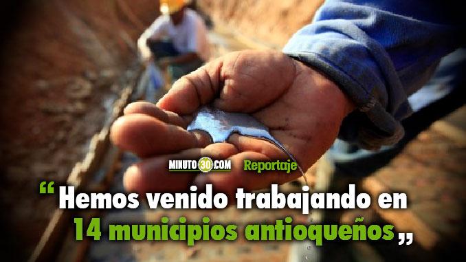 Casi 40 toneladas de mercurio se han dejado de usar por la miner%C3%ADa en Antioquia