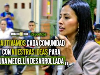 Conozca las propuestas de Maria Paulina Aguinaga aspirante al Concejo de Medellin