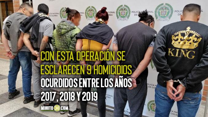 DURO GOLPE A GRUPO DELINCUENCIAL COMUN ORGANIZADO LOS CHIVOS DE MEDELLIN