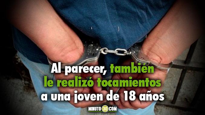 En el municipio de Caldas capturaron a un panadero que le mostro su miembro a una nina de 11 anos