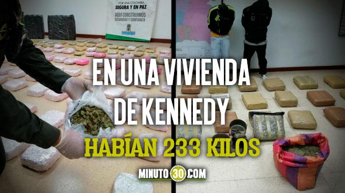 En las ultimas horas incautaron 418 kilos de marihuana en el Valle de Aburra