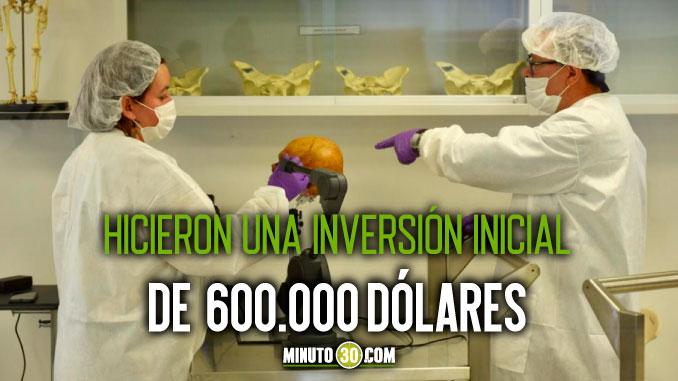 Fiscalia inaugur%C3%B3 en Medellin un laboratorio de genetica que cuenta con tecnologia de punta1